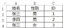 Excel中vlookup多条件引用