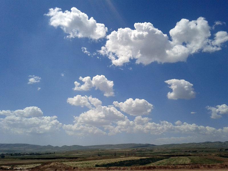 宁夏的天空